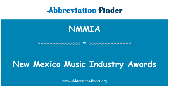 NMMIA: New Mexico Music Industry Awards