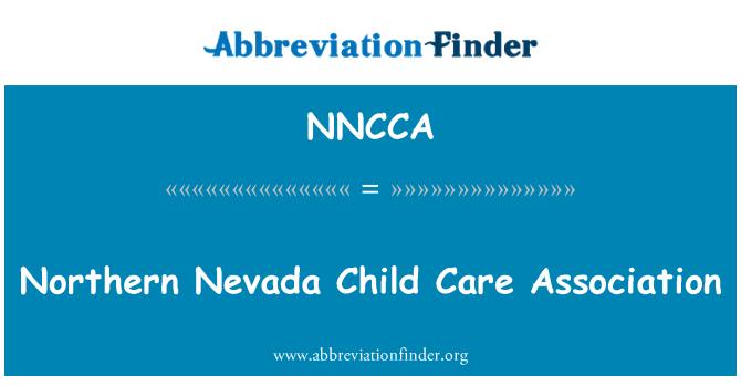 NNCCA: Severní Nevadě dítě péče asociace