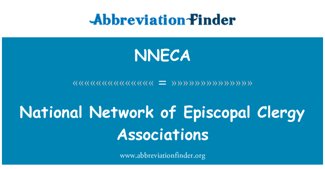 NNECA: National Network of Episcopal Clergy Associations