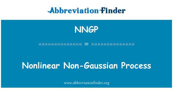 NNGP: Nonlinear Non-Gaussian Process