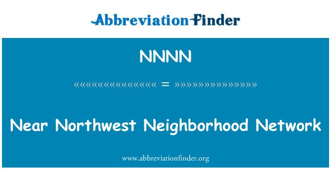 NNNN: Junto a la red vecinal del noroeste