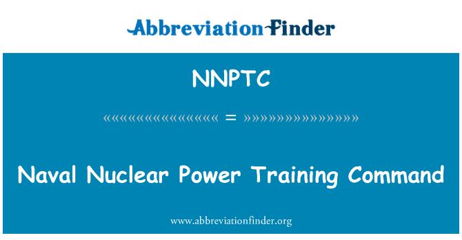 NNPTC: Naval nükleer enerji eğitim Komutanlığı