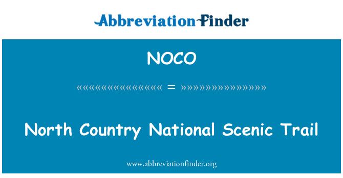 NOCO: Põhja riigi riikliku Scenic rada