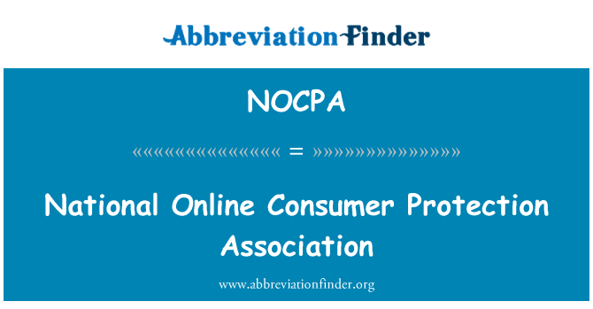 NOCPA: National Online Consumer Protection Association