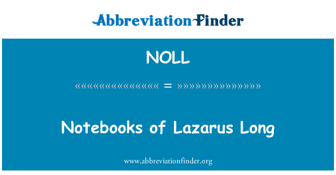 NOLL: Notebooks of Lazarus Long