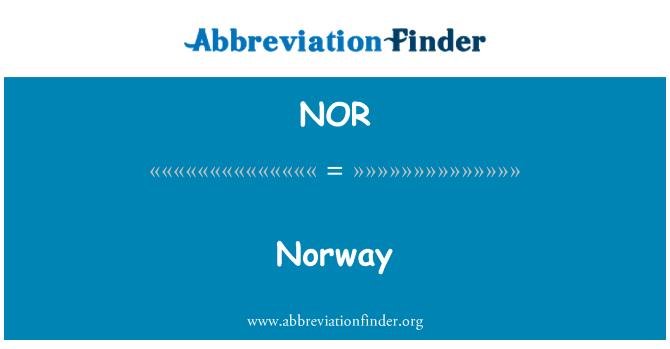 NOR: Noruega