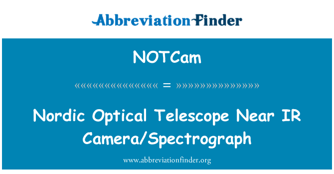 NOTCam: Nordic Optical Telescope Near IR Camera/Spectrograph