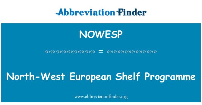 NOWESP: North-West European Shelf Programme