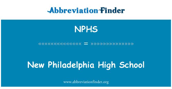 NPHS: Escuela secundaria New Philadelphia