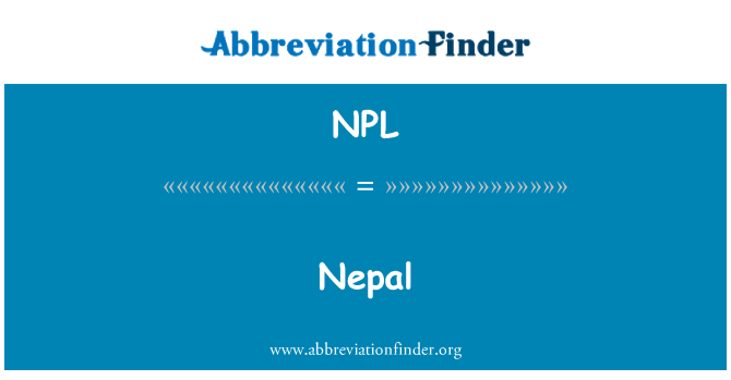 NPL: Nepal