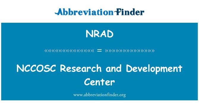 NRAD: NCCOSC araştırma ve Geliştirme Merkezi