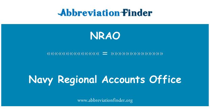NRAO: Oficina de cuentas regionales Marina