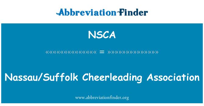 NSCA: Nassau/Suffolk Cheerleading Association