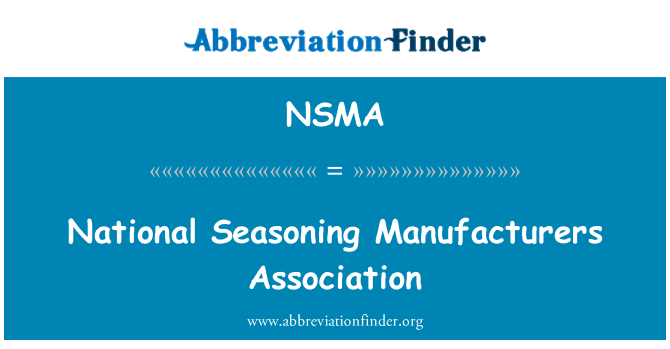 NSMA: Riigi maitsestamise Assotsiatsioon