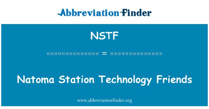 NSTF: Natoma Station Technology Friends
