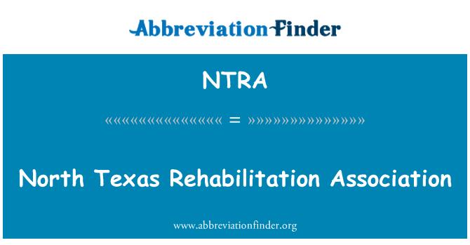 NTRA: North Texas Rehabilitation Association