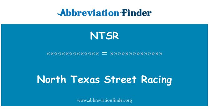 NTSR: North Texas Street Racing