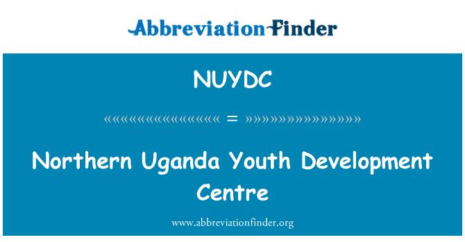 NUYDC: Northern Uganda Youth Development Centre