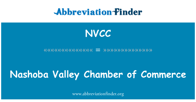 NVCC: Nashoba Valley Ticaret