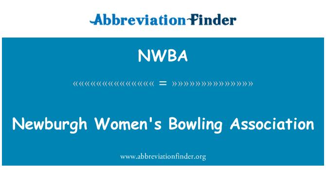 NWBA: Newburgh Women's Bowling Association