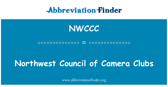 NWCCC: Northwest Council of Camera Clubs