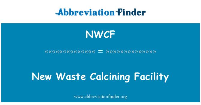 NWCF: New Waste Calcining Facility