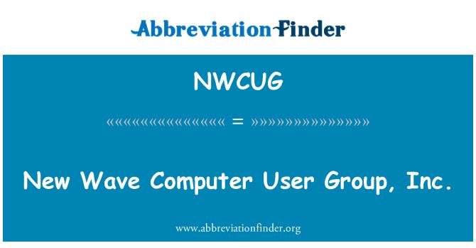 NWCUG: New Wave Computer User Group, Inc.