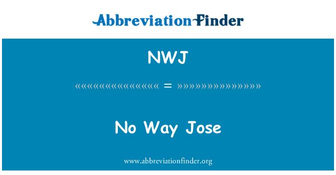 NWJ: אין סיכוי, חוזה