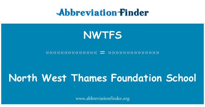 NWTFS: North West Thames sihtasutuse kooli