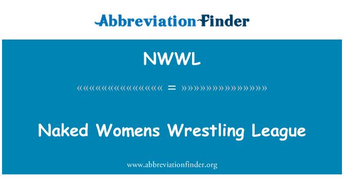 NWWL: Alasti naiste maadlus liigas