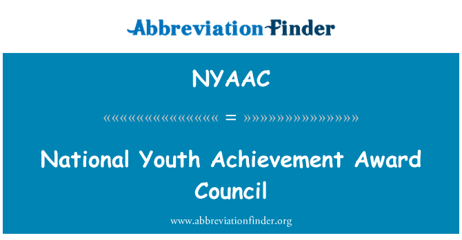 NYAAC: National Youth Achievement Award Council