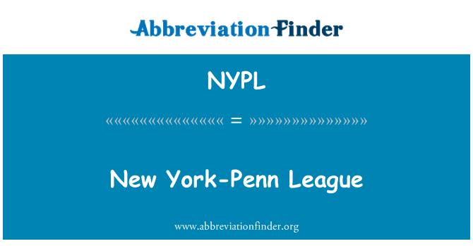 NYPL: New Yorgi Penn liigas