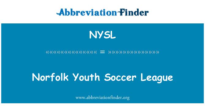 NYSL: Norfolk gençlik Futbol Ligi