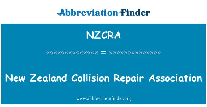 NZCRA: New Zealand Collision Repair Association