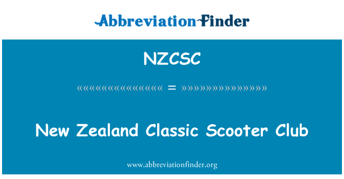 NZCSC: New Zealand Classic Scooter Club