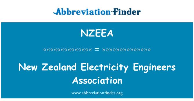 NZEEA: New Zealand Electricity Engineers Association