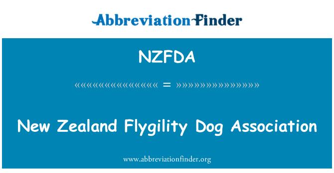 NZFDA: New Zealand Flygility Dog Association