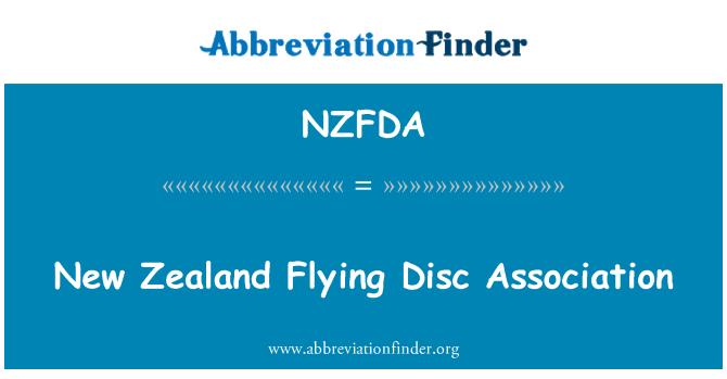 NZFDA: New Zealand Flying Disc Association