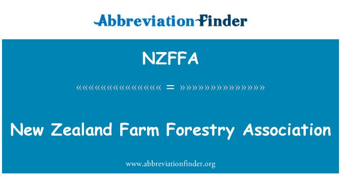 NZFFA: New Zealand Farm Forestry Association