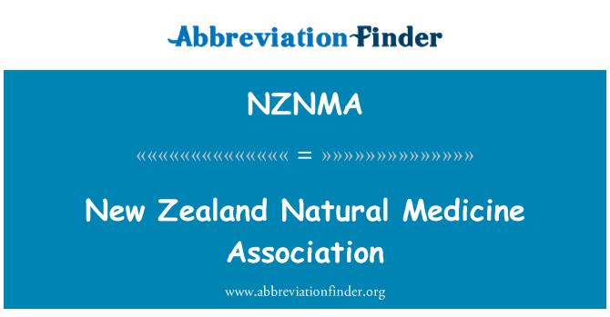 NZNMA: New Zealand Natural Medicine Association