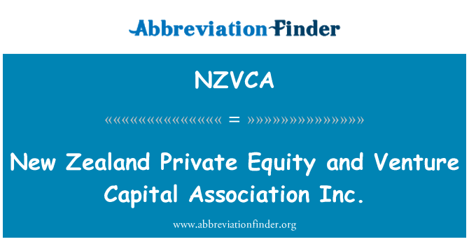 NZVCA: New Zealand Private Equity and Venture Capital Association Inc.