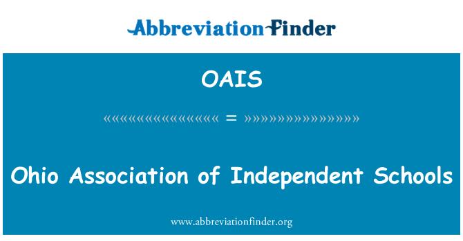 OAIS: Bağımsız Okullar Birliği Ohio
