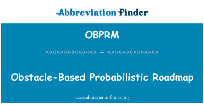 OBPRM: Obstacle-Based Probabilistic Roadmap