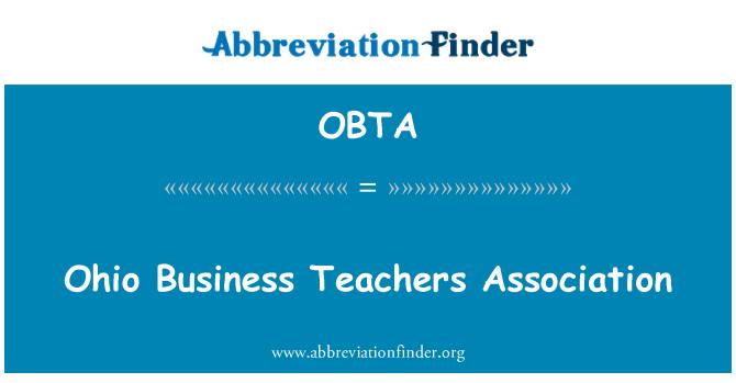 OBTA: Ohio Business Teachers Association