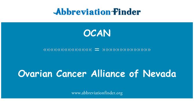 OCAN: Ovarian Cancer Alliance of Nevada