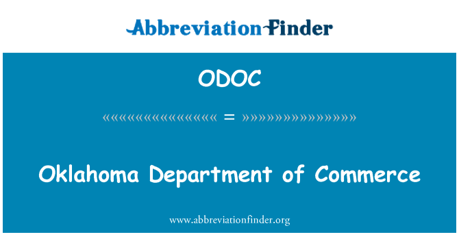 ODOC: Oklahoma Department of Commerce