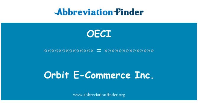 OECI: Órbita E-Commerce Inc.
