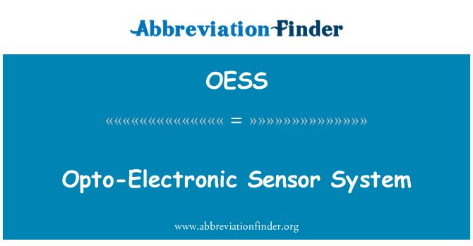 OESS: Sistema de sensores opto-electrónicos
