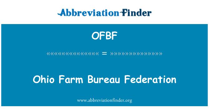 OFBF: Ohio Farm Bureau Federation