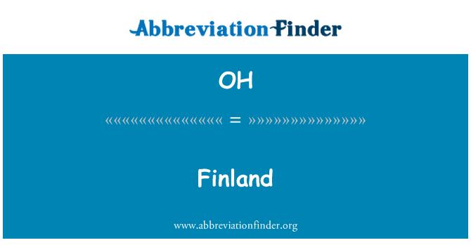 OH: Finlandia